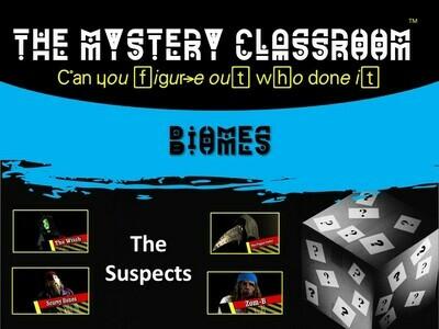 Biomes Mystery (School License)