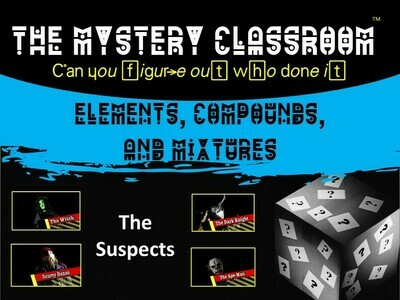 Elements, Compounds, and Mixtures Mystery (School License)