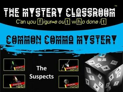 Common Comma Mystery (School License)