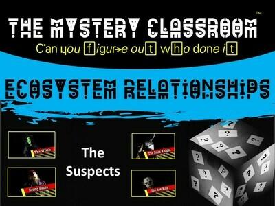 Ecosystem Relationships Mystery (1 Teacher License)