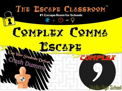 Complex Comma Escape  (1 Teacher License)