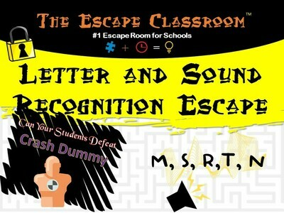 Letter and Sound Recognition (M, S, R, T, N) (1 Teacher License)