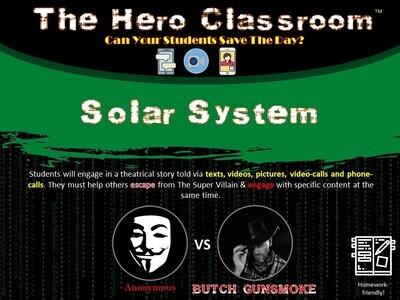Solar System Hero Classroom (School License)