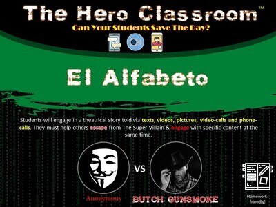 Spanish: Alphabet Hero Classroom (School License)
