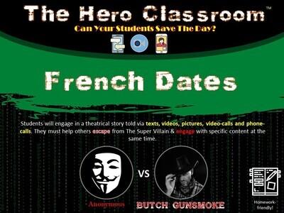 French: Dates Hero Classroom (1 Teacher License)