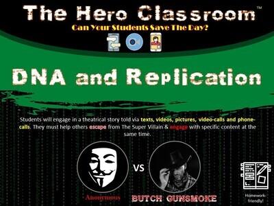 DNA and Replication Hero Classroom (School License)