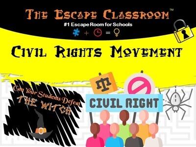 Civil Rights Movement Escape  (School License)