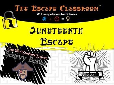 Juneteenth Escape  (1 Teacher License)