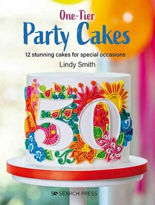 'One Tier party Cakes' book by Lindy Smith - PRE-ORDER
