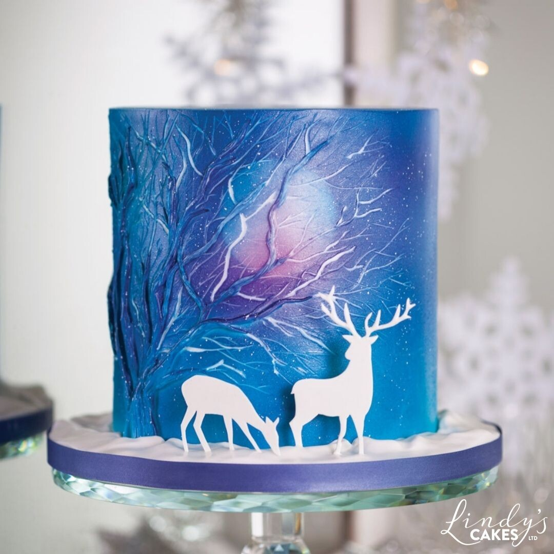 Winter Wonderland - Cake Decorating Class with Lindy Smith, SHROPSHIRE