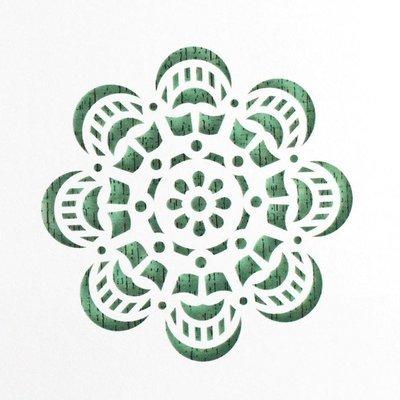 Mandala Cake Stencil #1 - CM058