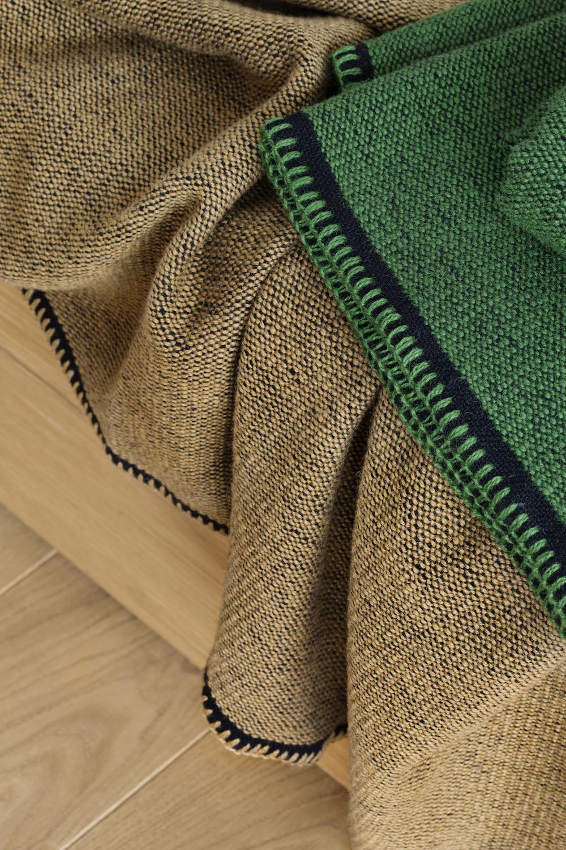 Norwegische Lammwoll Decke Røros Tweed Picnic 150x200cm