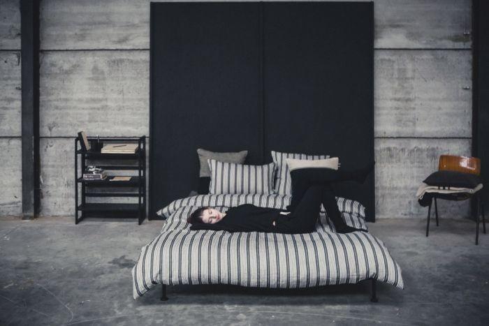 LIBECO Bettwäsche • The Tack Stripe 100% Leinen