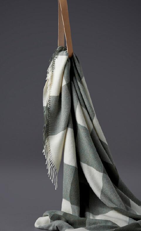 Santa Fe 100% Baby-Alpaka Wolldecke 130x200cm von Silkeborg