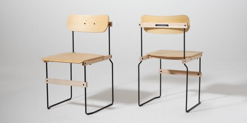 Design Stuhl Bruto von Nils Holger Moormann