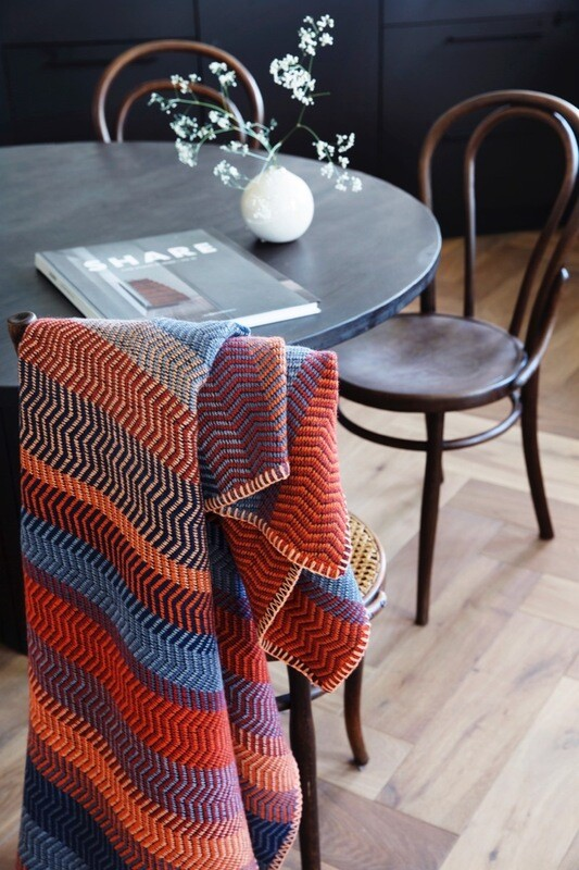 Norwegische Feinwolldecke Røros Tweed FRI 150x200cm