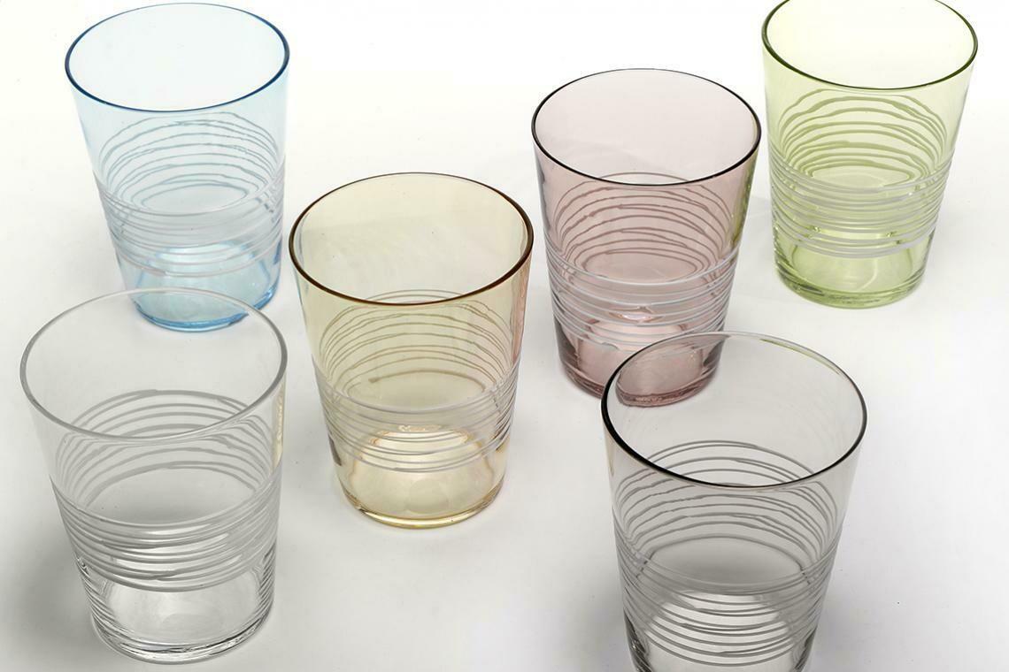 6er Glasserie Filante von Federico de Majo