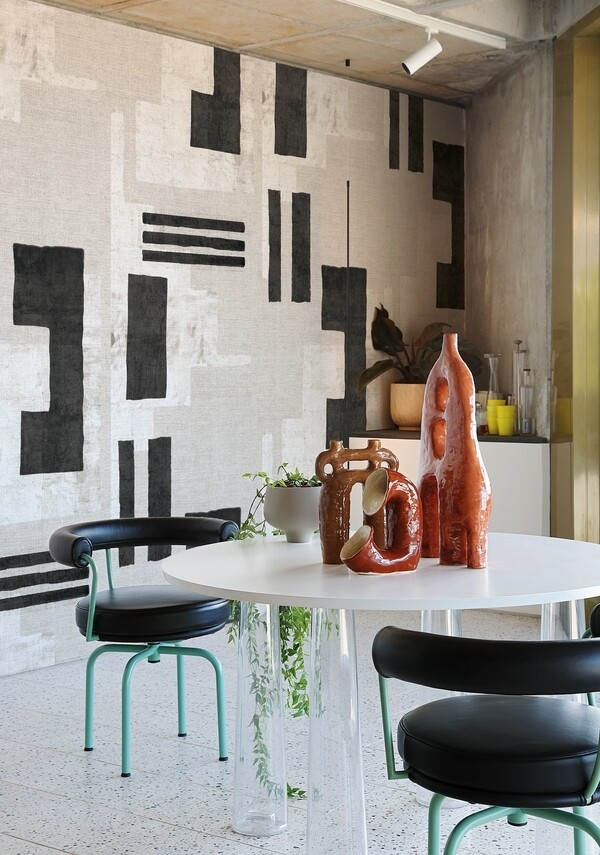 Color field die Design Tapete von Giovanni Pagani