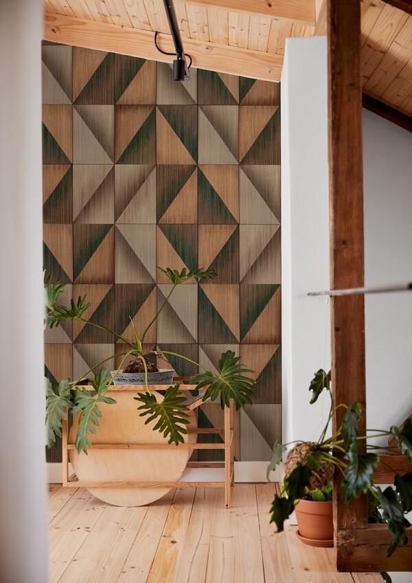 Hypotenuse die Design Tapete von Gupica • 10m