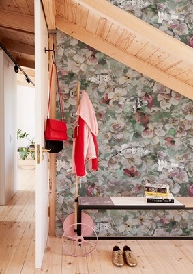 La vie en Rose die Design Tapete von Eva Germani