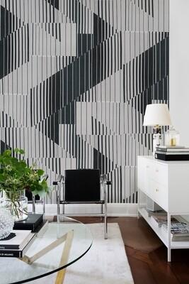 Matrix die Design Tapete von Draga & Aurel