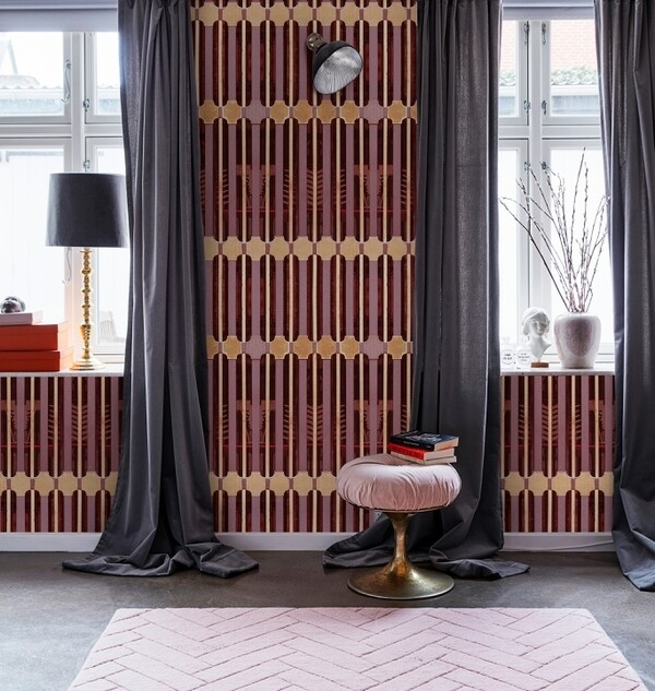 Ornate die Design Tapete von Debonademeo