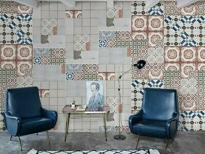 Tell me Tiles die Design Tapete von Giovanni Pagani