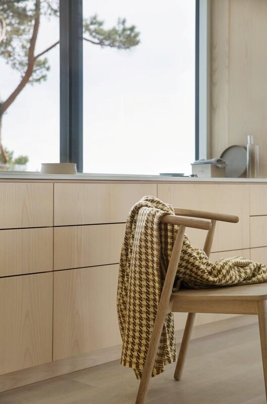 Norwegische Feinwolldecke Mimi Røros Tweed  150x200cm