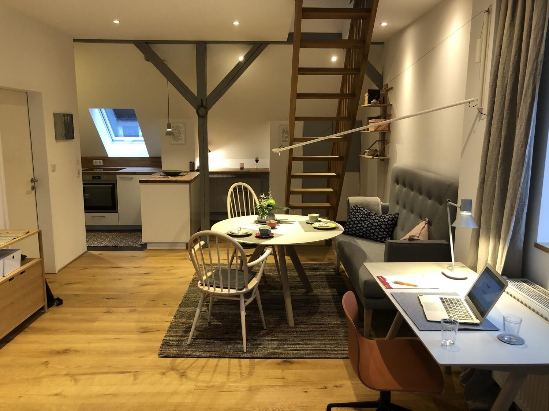 Gutschein für zwei Übernachtungen im Design Apartment Detmolder LOeFTchen (NRW)