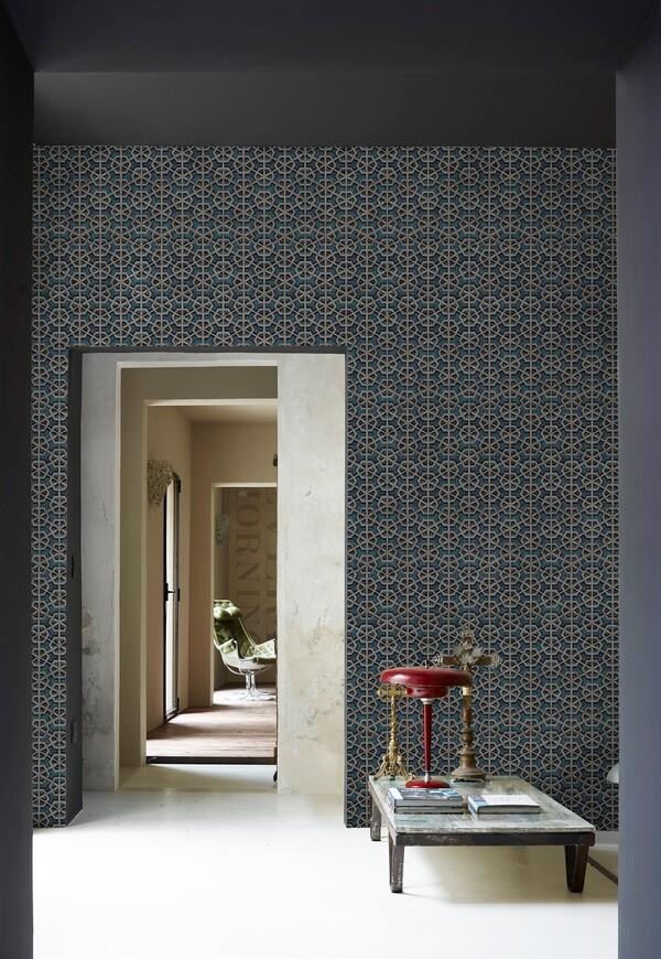 Exa die Design Tapete von Giovanni Pesce Wall & deco