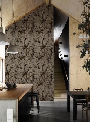 Lino die Design Tapete von Antonella Guidi • 20m