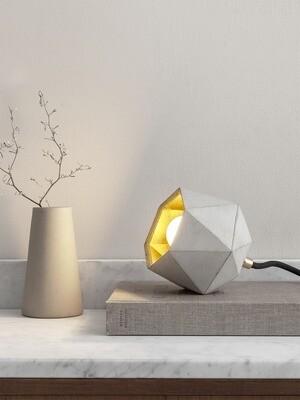 Beton Designer-Bodenspot trianguliert D12cm