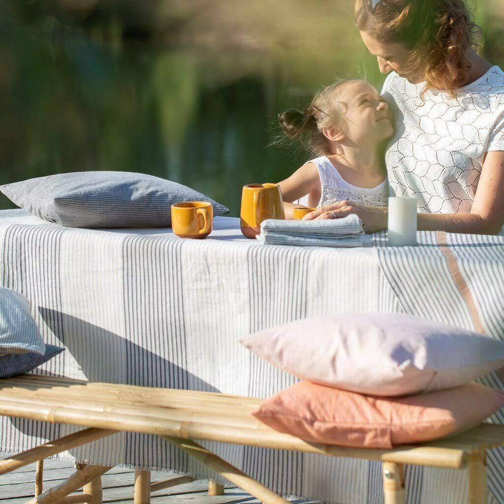 Sommer-Tuch Nizza 150 x 180cm Baumwolle von David Fussenegger