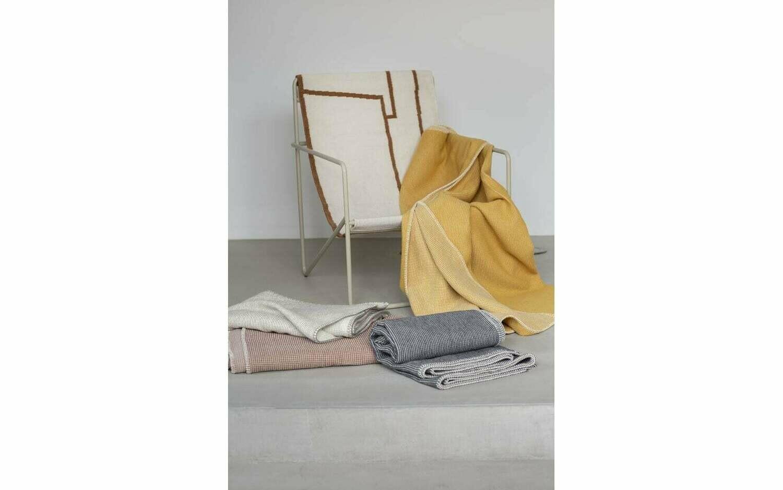 Baumwoll Waffeldecke Lido 140 x 200cm von David Fussenegger