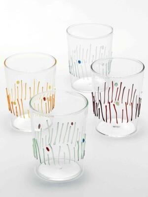 4er Set Glasserie Stagioni von Federico de Majo