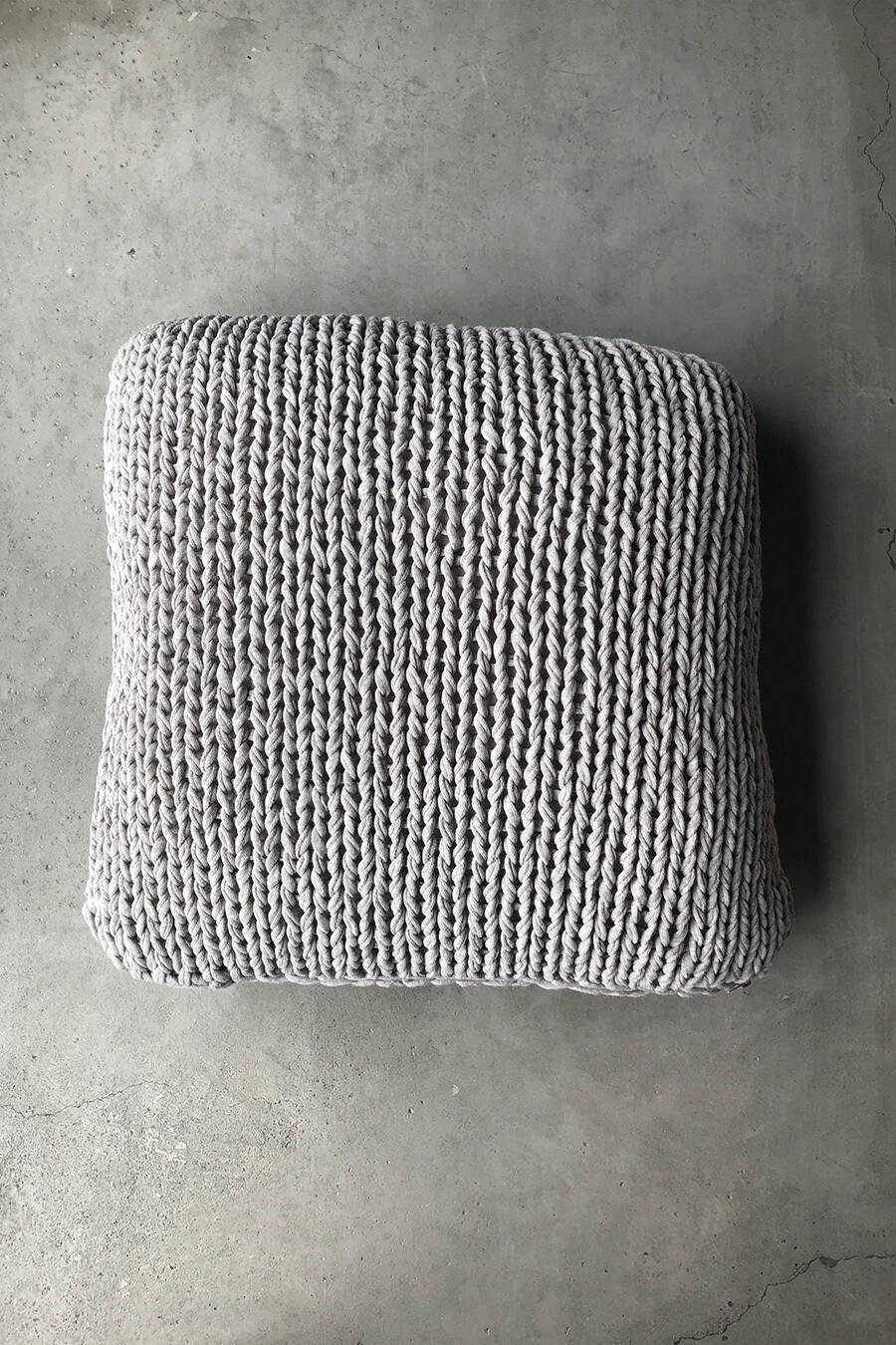 Strick-Kissen 50 x 30cm Handarbeit von mikmax