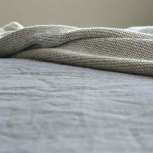 Strick-Decke Bobo 140x240cm 100% Baumwolle von mikmax