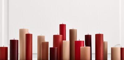 Stearin Block-Kerzen • die gesunde Art der Gemütlichkeit