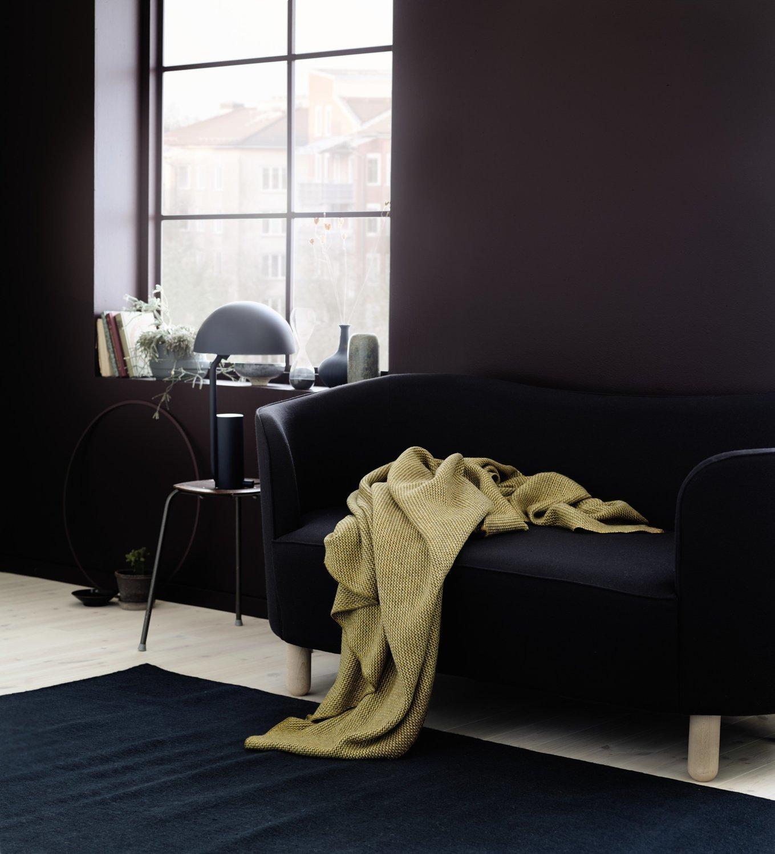 Norwegische Lammwoll Decke Røros Tweed Una 150x200cm