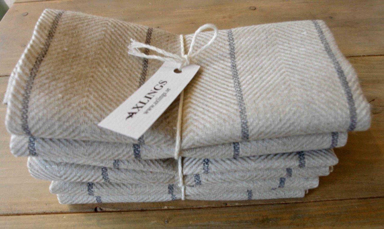 Handtuch MARULK 2er Set 50x70 cm 100% Leinen  von Axlings