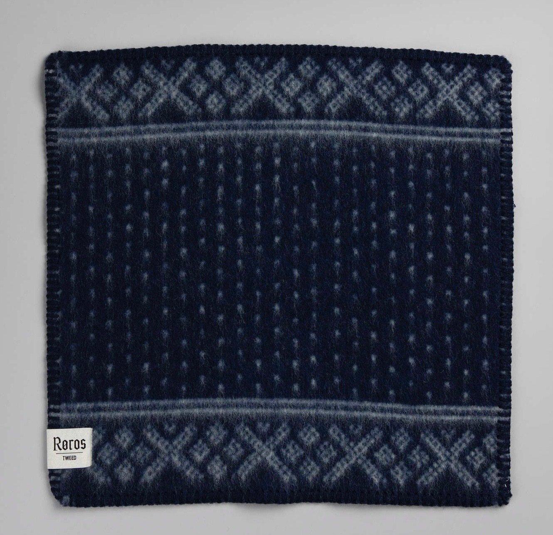 Norwegische Lammwoll Sitzauflage Røros Tweed SETESDAL 45x45cm