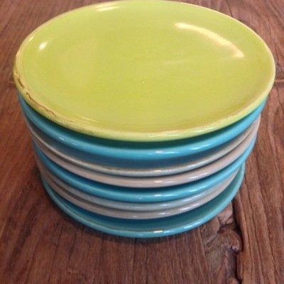 Bunte ital. Keramik Teller von Grün & Form