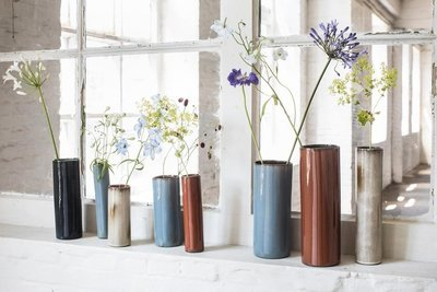 Zylinder Vase SERAX Steingut Terres de Rêves