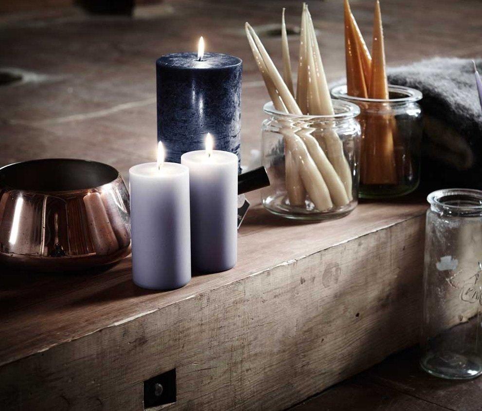 Stearin Kerzen • die gesunde Art der Gemütlichkeit