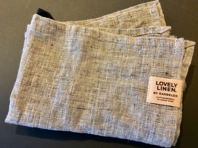 Chambray Handtücher in 100% Leinen • Lovely Linen