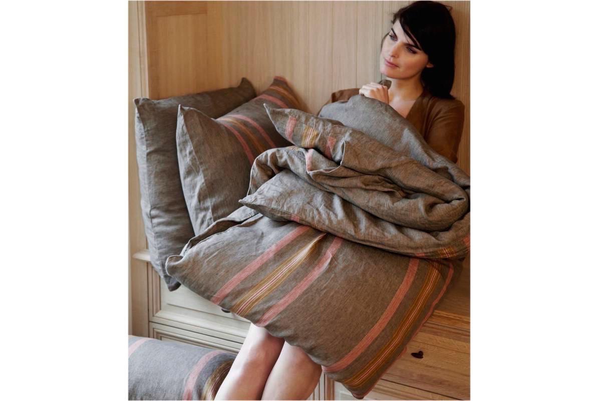 LIBECO Bettwäsche • Bettlaken Nottinghill 100% reines Leinen