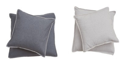 Kissen-Hüllen Baumwolle 50 x 50cm uni