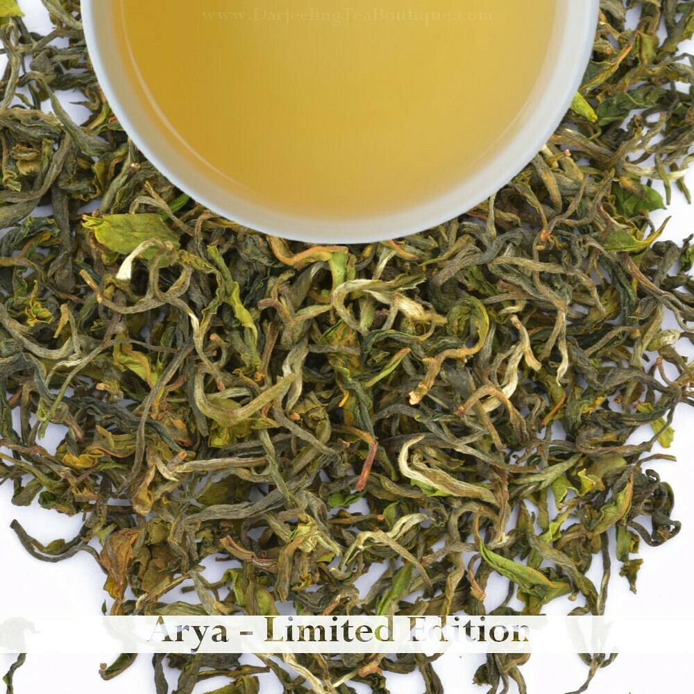 SAVOURY & DELICIOUS ARYA (SPL EDITION) - Darjeeling 1st flush 2020  - 50gm (1.76oz)