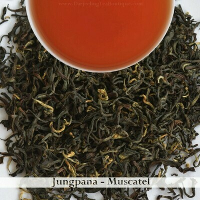 EXQUISITE JUNGPANA MUSCATEL - Darjeeling 2nd Flush 2020  (100gm / 3.5oz)