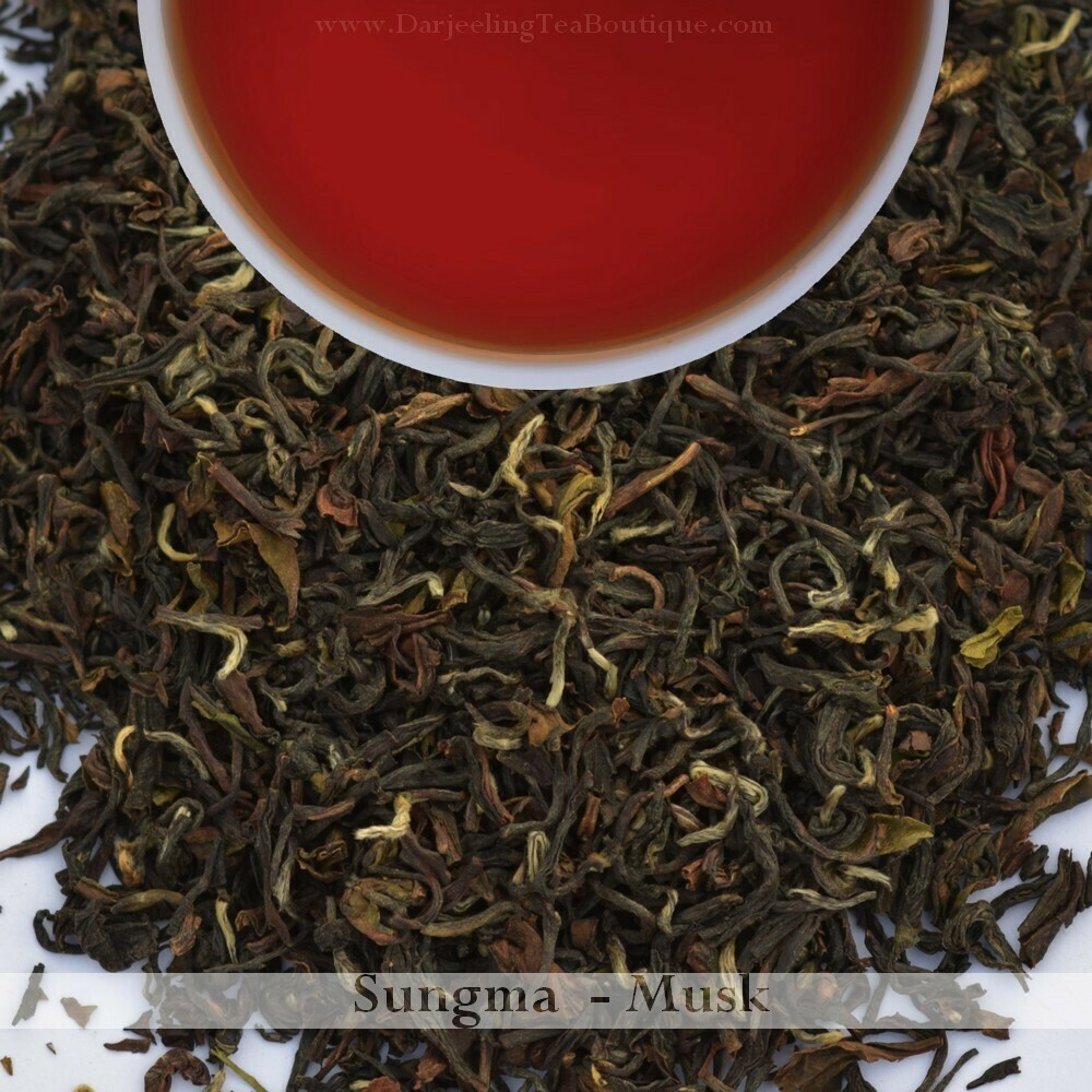 THE DELECTABLE & RICH SUNGMA - 2019 Darjeeling 2nd Flush  (100gm / 3.5oz)